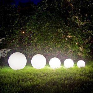 25cm LED glow balls