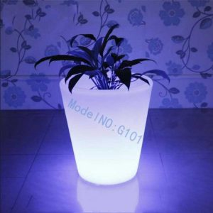 LED flower planter