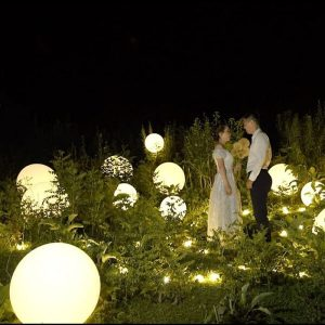 60cm LED glow balls