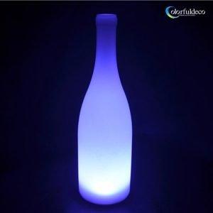 LED decorative Plato bottle lamp