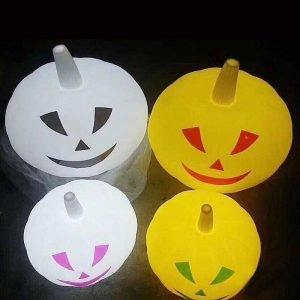 Customized rechargrable LED Pumpkin Light