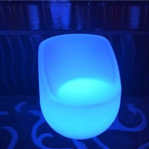 Illuminated chair