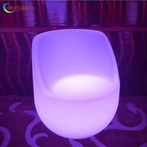 Illuminating chair