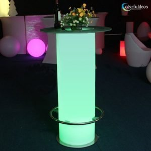 LED bar table