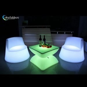 Glow LED table
