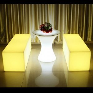 Illuminated LED furniture
