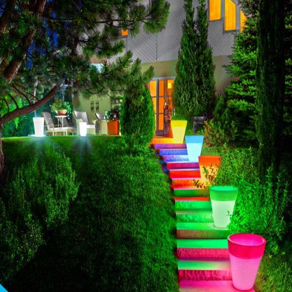LED flower pot