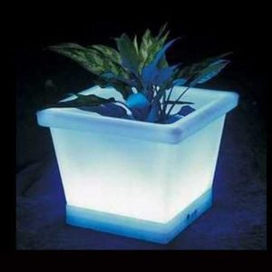 Lighting LED flower pot