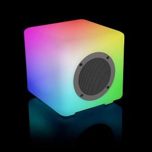 Glow Wireless Bluetooth Cube Speaker