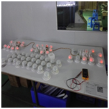 LED Drum Table