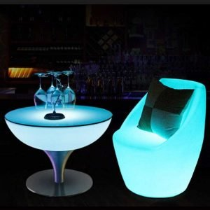 LED Back Chair Furniture