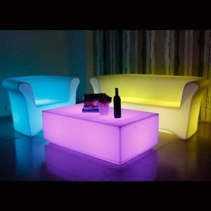 LED Big Table Furniture