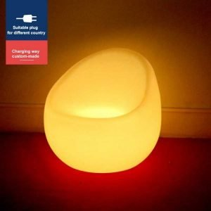 LED Sphere Chair