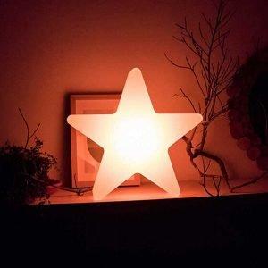 LED Illuminated Pentagram Stars