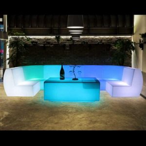 LED Straight Sofa