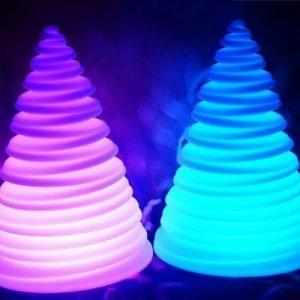 Illuminated decorative light