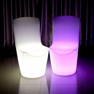 Illuminated dinning chair