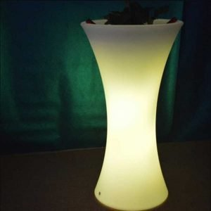 Slim Waist LED flower pot
