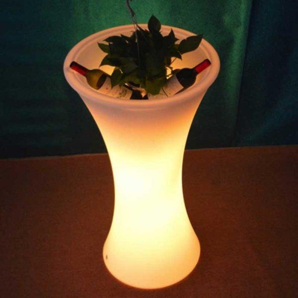 Slim Waist LED flower pot