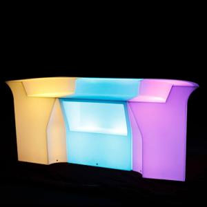 glow pub counter