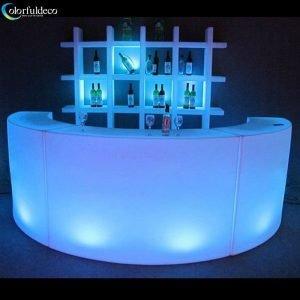 Glow circular bar