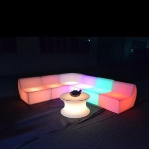 LED lighting sofa